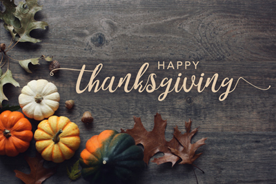 Happy Thanksgiving From Country Press Printing